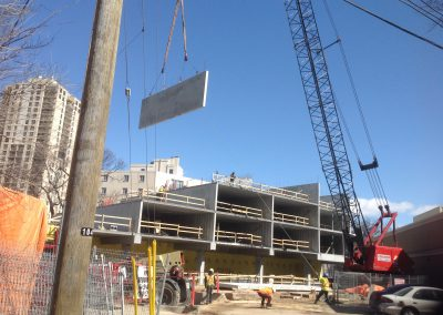 Structural-Precast-Lifted-By-Crane